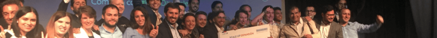 Ganadores del concurso Scale Up Expansión